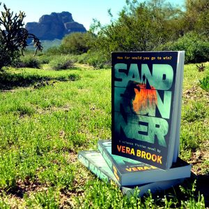 Sand Runner by Vera Brook in the wild