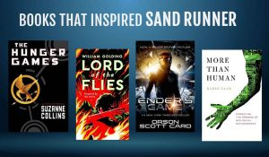 Books that inspired Sand Runner Hunger Games Enders Game