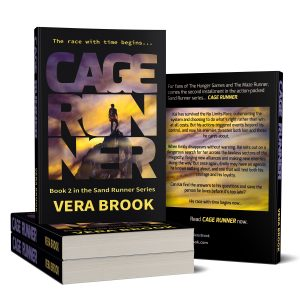 Cage Runner paperback Sand Runner series by Vera Brook