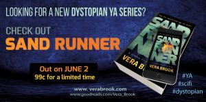 Sand Runner by Vera Brook is out today