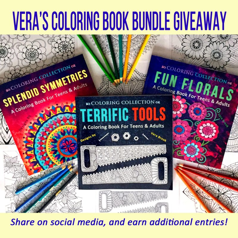 Coloring Book Giveaway (March 2018)