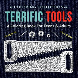 Cover of Terrific Tools coloring book by Vera Brook