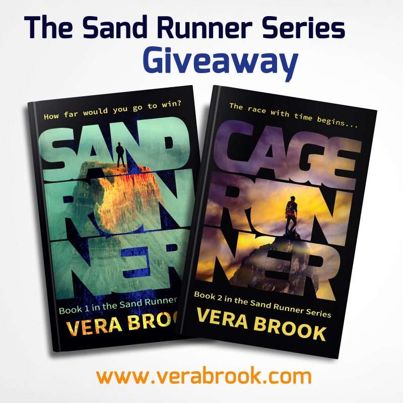 Sand Runner Series Giveaway (April 2018)